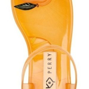 WOMEN'S KATY PERRY PEACH GELI ANKLE STRAP SANDALS